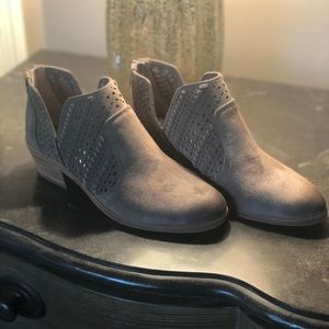 Vince Camuto Suede Leather Bootie